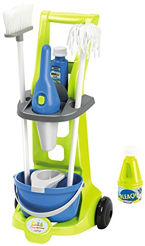 ecoiffier-7600001769-cleaning-trolley-with-hand-vacuum-cleaner