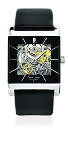 Pierre Lannier - 314B133 - Week-End Automatique - Montre Homme - Automatique Analogique - Cadran Noir - Bracelet Cuir Noir