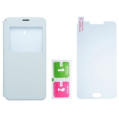 Creev Mark V Prime copertura di vibrazione e Screen Protector vetro temperato (bianco)