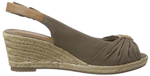 Tom Tailor 9690901, Sandales Femme Marron (Mud)