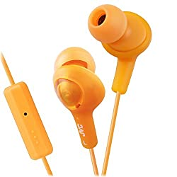 JVC Gumy Plus Remote HA-FR6-D In-the-ear Headset -ORANGE