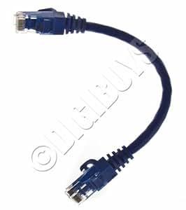 Ultra Court 15cm 0.15M CAT6 CAT6e Snagless LAN Gigabit Câble Ethernet câble UK