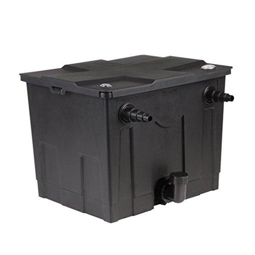 Festnight Teichfilter Filteranlage Teich Filter Gartenteich-Filter Max. Pumpenleistung 8000 l/h