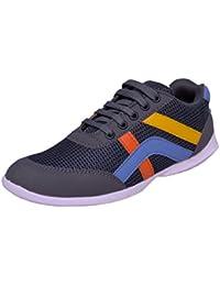 ZoShoes Women's Outdoor Multi Sport Training Shoes Grey Women Sports Lace Up Shoe, Trendy Women Multi Color Lace...
