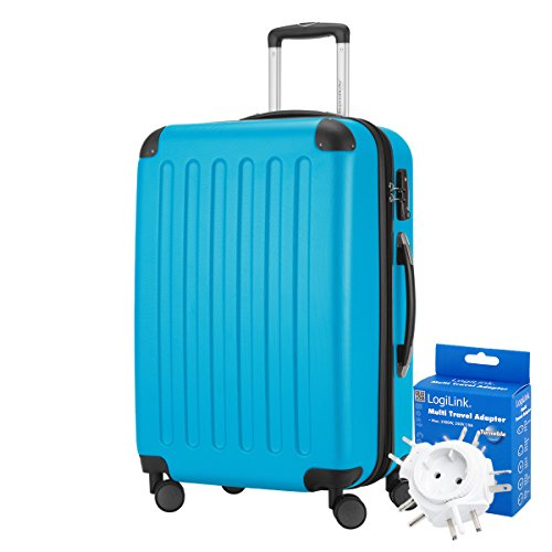 HAUPTSTADTKOFFER® Hauptstadtkoffer Spree - Reisekoffer · TSA · MATT · (in versch. Farben) + REISEADAPTER - 82 Liter