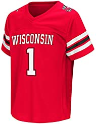"Wisconsin Badgers NCAA ""Hail Mary Pass"" Toddler Football Jersey Maillot"