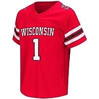 "Wisconsin Badgers NCAA ""Hail Mary Pass"" Toddler Football Jersey Trikot"