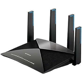 NETGEAR R9000-100EUS Routeur Gigabit Wi-Fi AD7200 Nighthawk X10 7 ports Gigabit et 2 ports USB 3.0 Idéal pour le streaming 4K et les jeux en réalité virtuelle