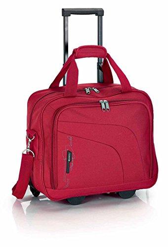 La semana Gabol business-maleta con compartimento para portátil de 40 cm rojo