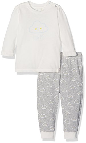 ESPRIT Baby Boys' T-Shirtpant Clothing Set, Grau (MID Heather Grey 260), 0-3 Months (Manufacturer Size:62)