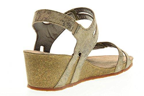 MEPHISTO scarpe donna sandali MINOA PRINT 17631 CAMMELLO Cammello
