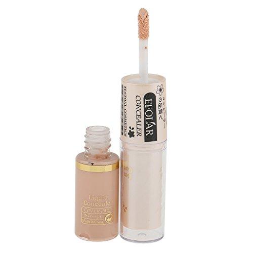 Baosity 2 en 1 Professionnel Correcteur Liquide et Crèmeux pour Maquillage Cosmétique - 3 #, 10,5 * 1,8 cm
