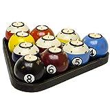 Teelichthalter 10er Set Billardkugeln Kerzenhalter Dekoration Holz Shabby Vintage Teelicht Billiard. von Haus der Herzen