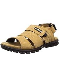 Woodland Men's Ogd 3327119_Camel Leather Outdoor Sandals-9 UK (43 EU) (10 US) 3327119CAMEL