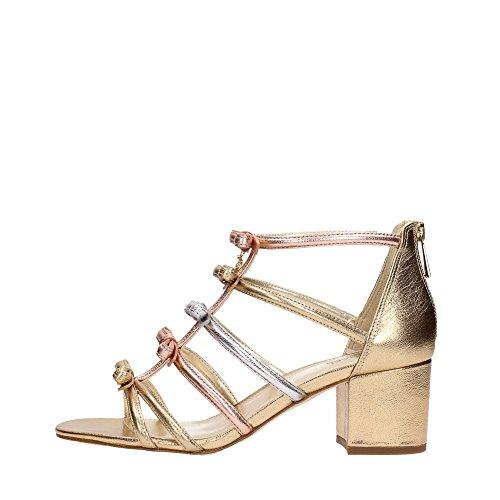 Michael Kors 40S8VRMS1M Sandalo Donna Gold 36