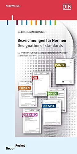 Bezeichnungen für Normen: Kürzel in Norm-Nummern und ihre Bedeutung (Beuth Pocket)