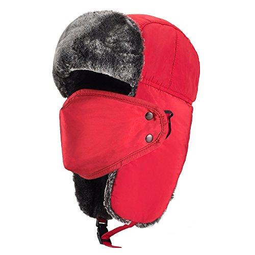 Winter Warme Radmütze Laufen Skifahren Thermo Maske Hut Fleece Atmungsaktiv Der Preis Bleibt Stabil Kleidung & Accessoires Herren-accessoires