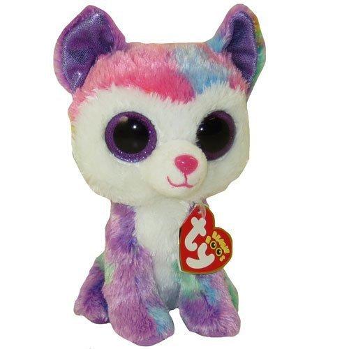 "Beanie Boo Dog - Izabella - Husky - 15cm 6"""