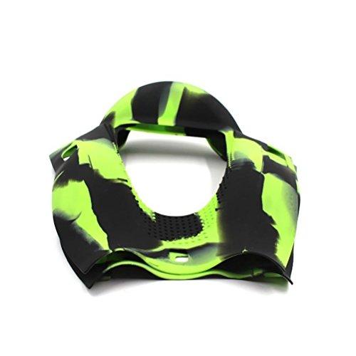 Wisamic Silikon Schutzhülle grün für 6,5 Zoll Smart Self Balancing Elektro Scooter Hoverboard - 4