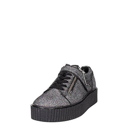 Fornarinasneaker coin black glitter article tina-couleur gris PIFTI9572WJA0600 nouvelle collection Automne / Hiver 2016 2017 Gris Glitter