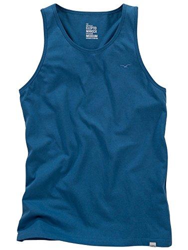 Cleptomanicx Ligull Tank Top (petrol blue) Blue