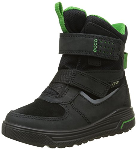 Ecco Urban Snowboard, Stivali da Neve Bambino, Nero (Black/Black/MEADOW52562), 33 EU