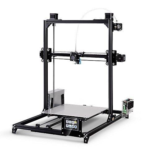 FLSUN 3D Drucker Plus Prusa i3 Diy Kit Dual nuzzle Touchscreen Selbstnivellierung Große 3D-Druck Größe Beheizte Bett Volle Geschenke - 3