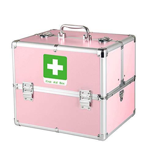 Haushalt aluminiumlegierung Medizin Box mehrschichtige besondere größe familieninstallation erste Hilfe ambulant vollen Satz von medikamenten aufbewahrungsbox