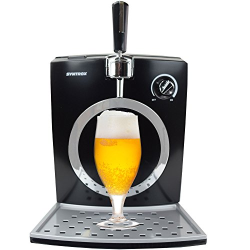 Syntrox Germany Digitale Bierzapfanlage mit Pumpe Bierkühler -