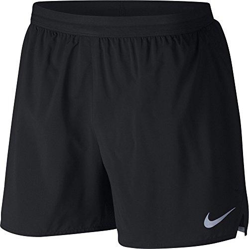 Nike Herren Flex Stride Shorts, Black/Reflective Silver, M (Nike Running Herren Shorts)