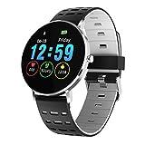 JIHUI HD Colore Schermo Smart Orologi Gli Sport Tracker IP68 Impermeabile Frequenza Cardiaca Pressione Sanguigna Tenere sotto Controllo - Bluetooth Compatibile per Androide I Phone,B