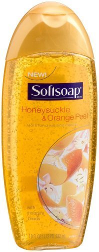 softsoap-sweet-honeysuckle-orange-peel-body-wash-18-ounce-bottles-pack-of-6-by-softsoap