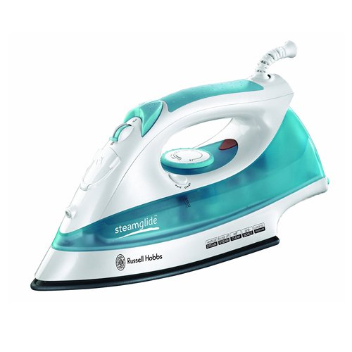 russell-hobbs-steamglide-iron-15081-2400-w-white-and-blue