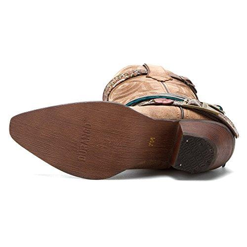 Durango boots bottes femme westernstiefel dCRD145/6 (différents coloris) Marron - Marron