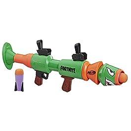 Hasbro E7511EU4 Nerf- Fortnite RL Blaster con Dardi, 2 razzi inclusi, Età consigliata 8 +, Multicolore