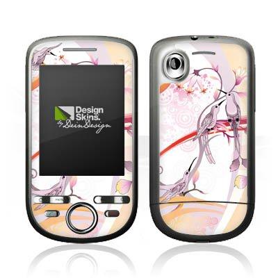 DeinDesign HTC Tattoo Case Skin Sticker aus Vinyl-Folie Aufkleber Vogel Kolibri Blumen