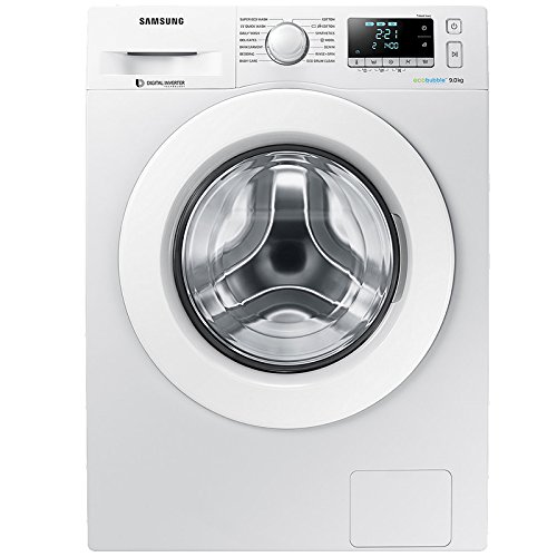 Samsung WW90J5456MW 9kg EcoBubble 1400rpm Freestanding Washing Machine - White