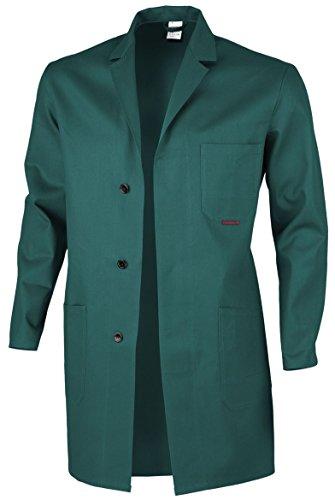 Qualitex Berufsmantel Arbeitskittel Blaumann 100 % Baumwolle - mehrere Farben - 102,Grün