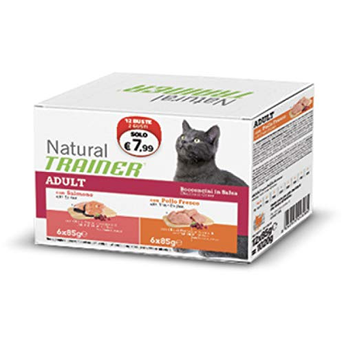 Trainer Natural Cat Bocconcini in Busta ADULT12 Buste x 85 gr.