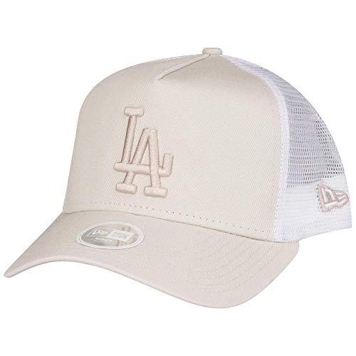 New Era Damen Mesh Trucker Cap - Los Angeles Dodgers beige (Damen Ball-kappe)