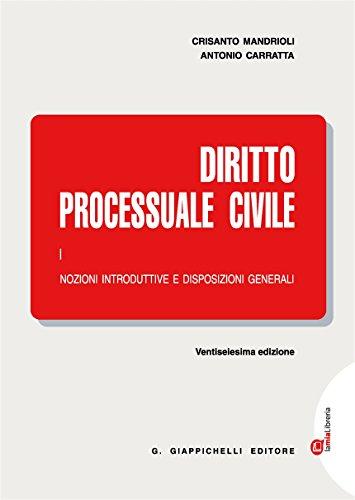 Diritto processuale civile. Con Contenuto digitale (fornito elettronicamente): 1