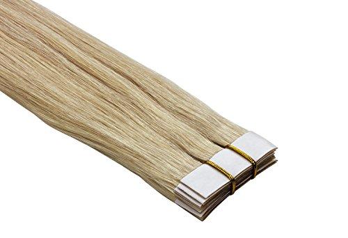 Echthaar Tape On / In Extensions Haarverlängerung 50cm 10 Tressen