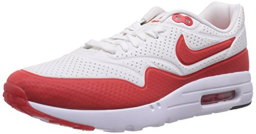 best sneakers 839c9 47c54 Nike Men S Air Max 1 Ultra Moire Running Shoe White Red