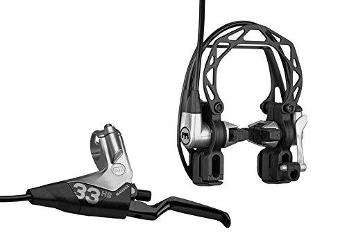 Magura HS33 R Felgenbremse Fahrradbremse, schwarz, 2-Finger Hebel -