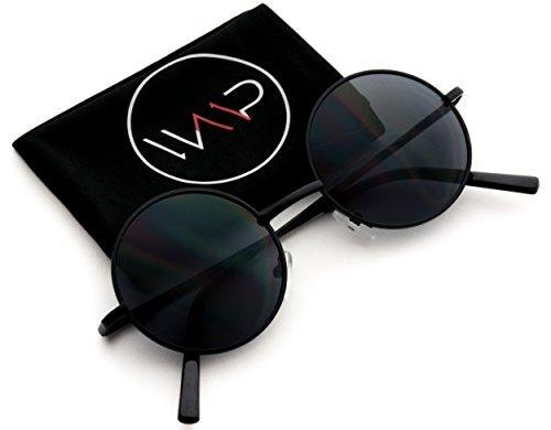 Nuevas Gafas de Sol Retro con Cristales Redondos Pequeños Inspiradas en John Lennon Vintage