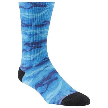 Reebok Ost U Print Crew Sock Socken Unisex XS blau (Bluspo) - Crew Print Crew Socks