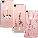 [3-Pièces] Coque iPhone 7 Plus, Coque iPhone 8 Plus, blossom01 Ultra Mince Cute...