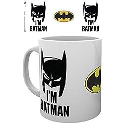 GB eye, Batman Comic, I'm Batman Cowl, Taza