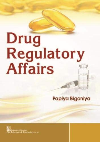 DRUG REGULATORY AFFAIRS (PB 2020)