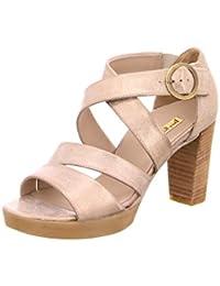 Paul Green 6657137 - Sandalias de Vestir de Cuero Repujado Para Mujer